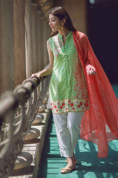 latest pakistani fashion   medium shirts