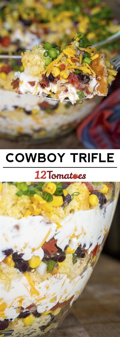 52 ways to cook cowboy cornbread trifle a savory bacon best 25 layer salad ideas that you will like on pinterest