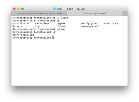 valet error log debugging with valet error logs tom mcfarlin
