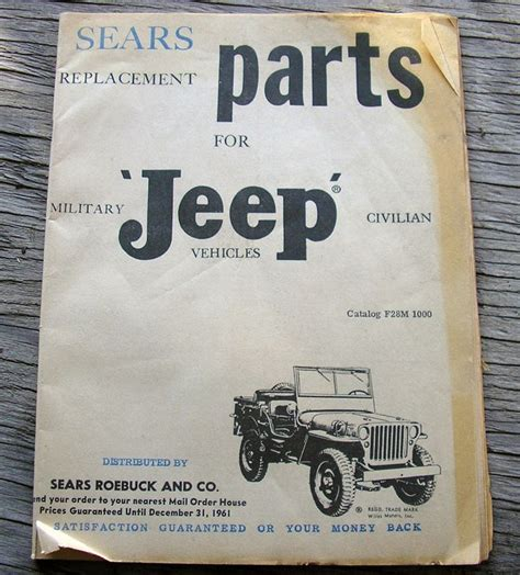 Jeep Parts Catalog 1000 Ideas About Jeep Parts Catalog On Jeep
