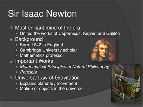 biography of isaac newton ppt 10 1 ppt