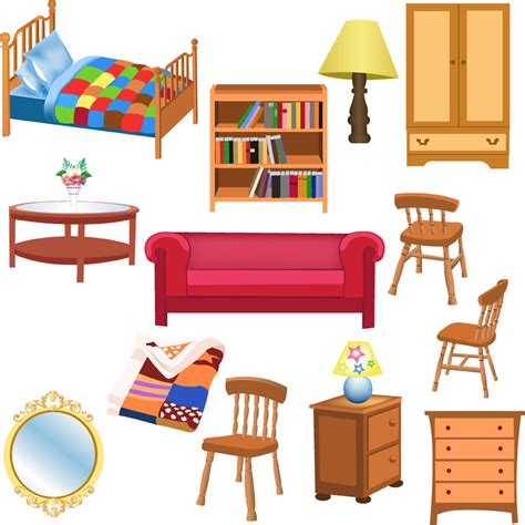 a variety of furniture clip free vector 4vector