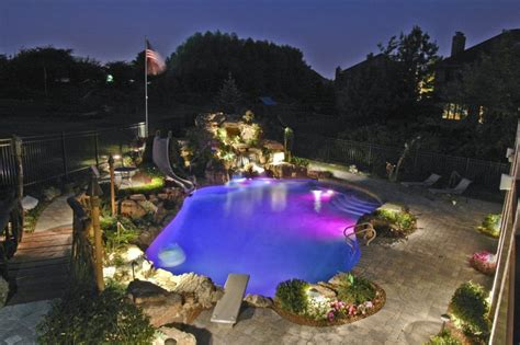 pool deck lighting inspiring pond lights 10 pool deck lighting bloggerluv com