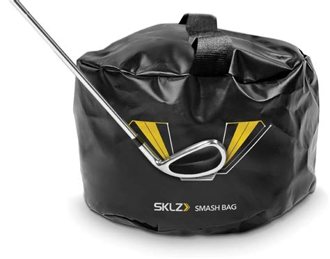 golf swing bag sklz smash bag golf impact training product