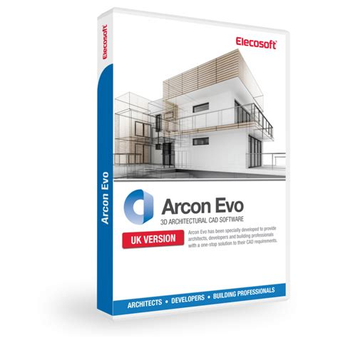 arcon evo 3d architectural cad software elecosoft
