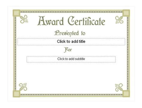 free award certificate templates for students student award template student award templates