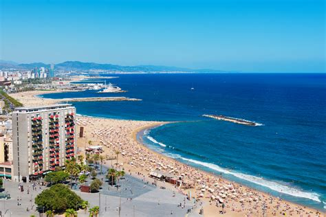 barcelona beach 10 of the best beaches in spain therichest