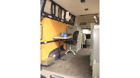 van work bench starting a business part 2 tool storage inside the
