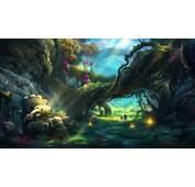 Fantasy Forest Wallpaper HD  WallpaperSafari