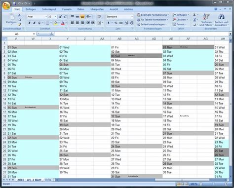 open design kalender jahreskalender f 252 r excel download
