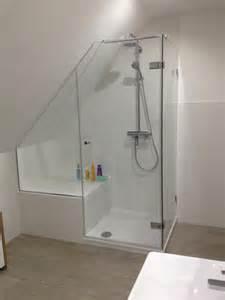 Bathroom Tile Mosaic Ideas duschabtrennung in dachschr 228 ge glas amp spiegelcenter