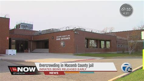 Macomb County Arrest Records Overcrowding In Macomb County