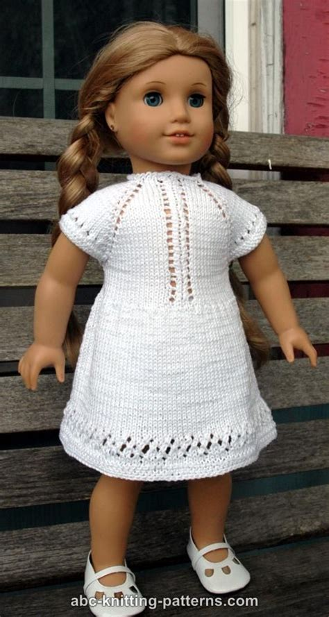 knitting patterns for american dolls abc knitting patterns american doll garter stitch