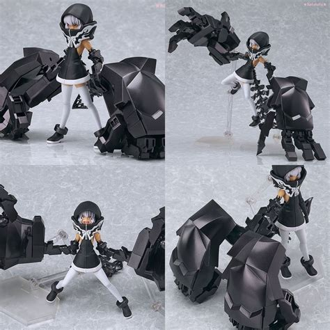Figma Black Rock Shooter Dan Miku new figma 198 black rock shooter strength tv animation ver from japan ebay