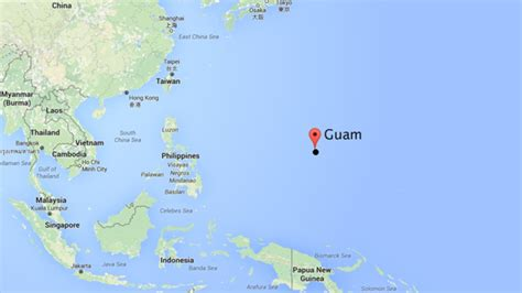 map of guam world map guam pictures to pin on pinsdaddy