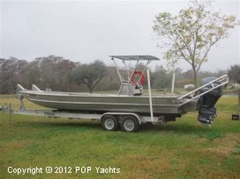 custom aluminum work boats sold used 2009 custom 30 aluminum work boat in