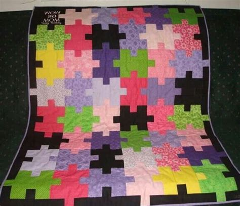 pieces by polly jigsaw puzzle baby quilt free pattern jigsaw puzzle quilt pattern quilt patterns pinterest