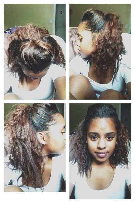 heatless hairstyles for short relaxed hair 42 best hairstyles images on pinterest