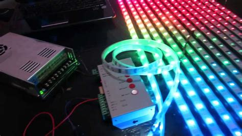 diy led curtain how to build an led display 1 basic wiring and setup of