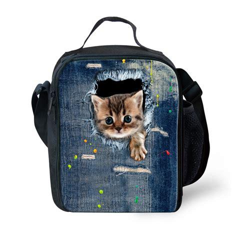 Best Seller Animal Kartun Lunch Bag Cooler Bag Tas Bekal Makan Siang zoo animal lunch bag for cat print children lunch bag thermal cooler
