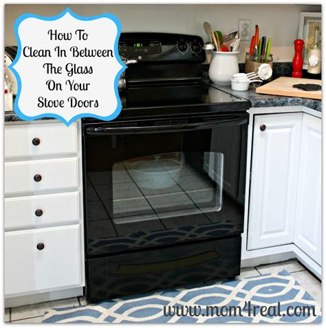 How To Clean A Self Cleaning Oven Glass Door How To Clean An Oven Door In Between The Glass 4 Real
