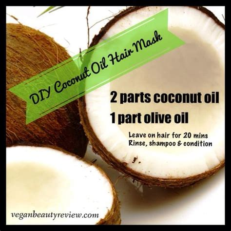 Does Coconut Oil Damage A Perm | diy coconut oil hair mask for dry damaged hair hair
