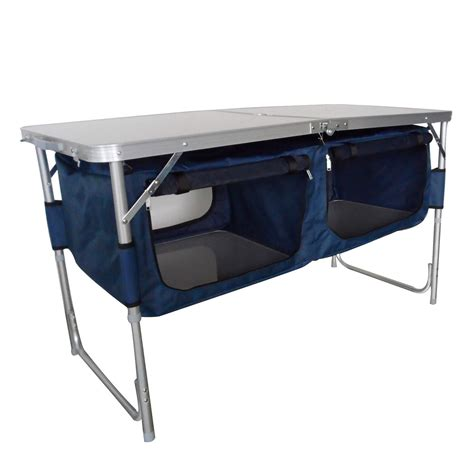 foxhunter cing folding kitchen table stand picnic
