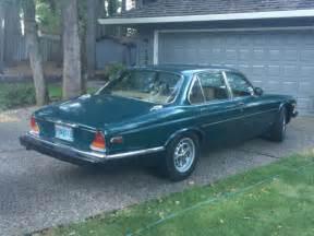 jaguar xj6 1983 4 door sedan racing green for sale