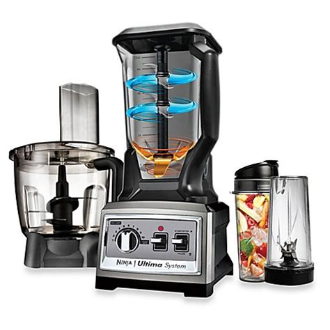 ninja blender bed bath and beyond ninja 174 bl820 ultima kitchen system bed bath beyond