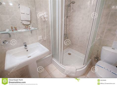 modern bathroom suites contemporary shower bath basin interior of a modern hotel bathroom stock photo image