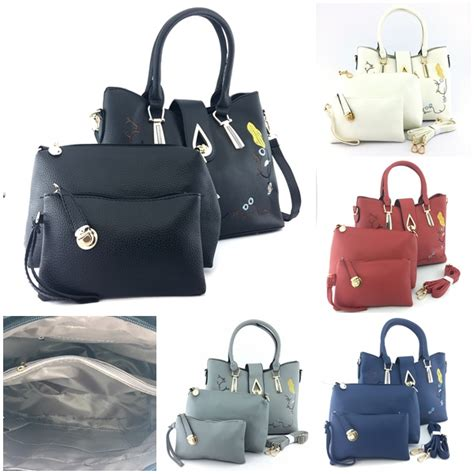 Cs 3362 3in1 Tas Import Tas Fashion Tas Korea Tas Batam Tas Murah jual b8631 white tas fashion set 3in1 grosirimpor