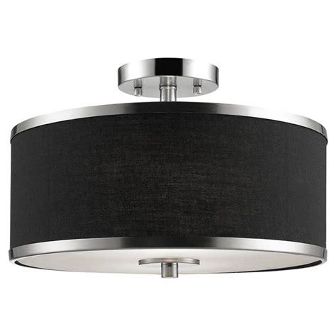 Black Nickel Ceiling Lights Beldi Medford Semi Flush Mount Ceiling Light 15 Quot Black Nickel R 233 No D 233 P 244 T