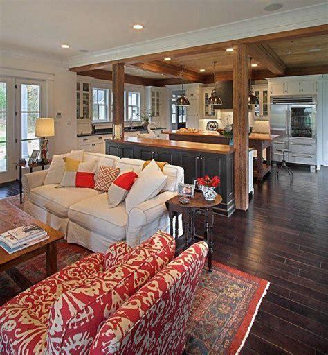 Open Concept Kitchen Living Room Floor Plans Best 25 Open Concept Kitchen Ideas On Vaulted