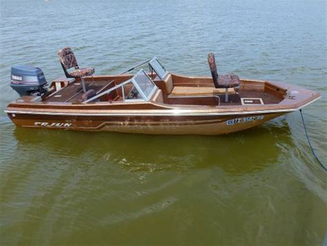 boats for sale by owner in oklahoma boats for sale 1983 16 foot cajun bassmaster fish n ski
