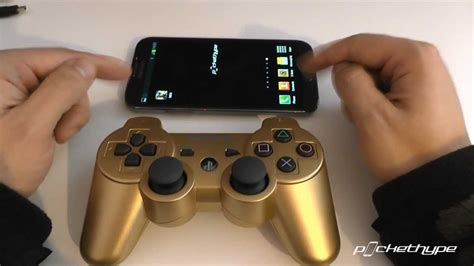 how to use ps3 controller on android how to pair playstation 3 controller with any android device s