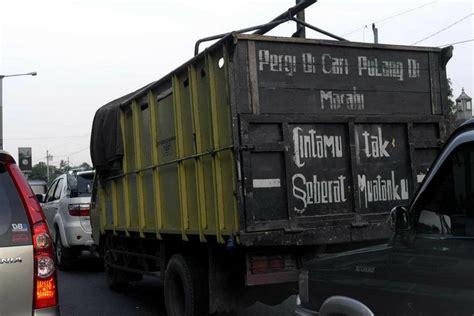 gambar  bak truk  bikin ngakak abis
