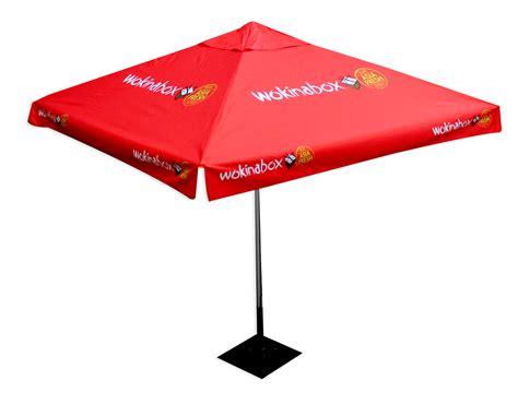 Café Umbrellas   Star Outdoor Café Range Branding and