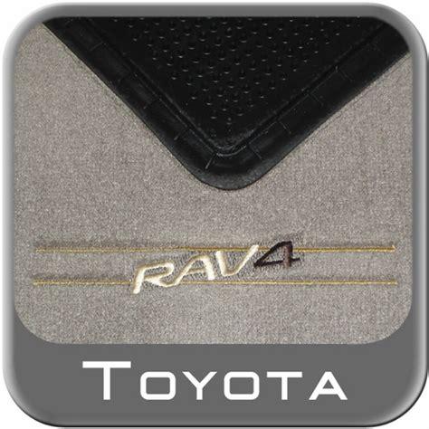 new 2004 2005 toyota rav4 carpeted floor mats from