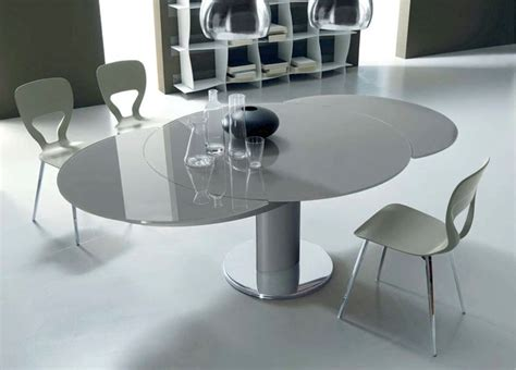 tavoli da pranzo moderni allungabili tavolo rotondo allungabile per la sala da pranzo tavoli