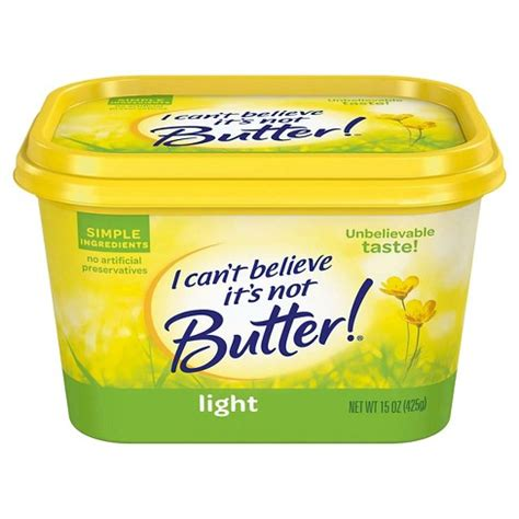 is i cant believe its not butter light dairy free i can t believe it s not butter 174 light buttery spread