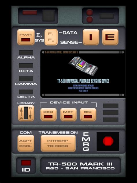 tricorder tr 580 apk image gallery tricorder wallpaper