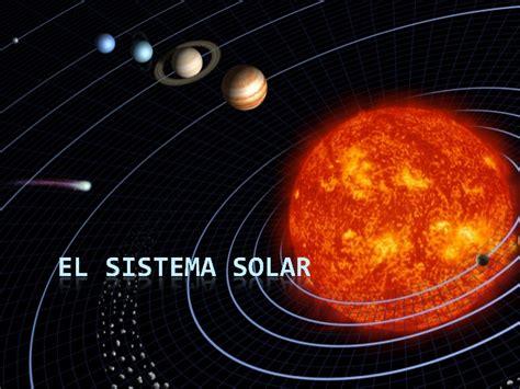 imagenes del sistema universo el origen del sistema solar