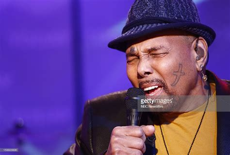aaron neville face tattoo nbc s quot today quot with guests diane o meara kimora