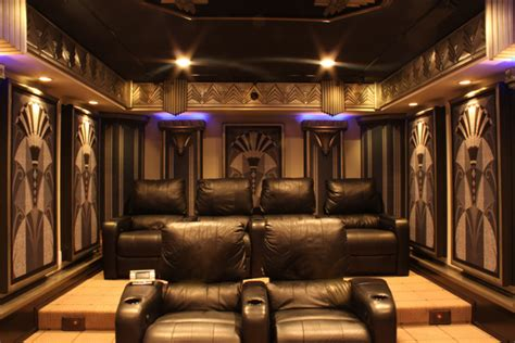 home entertainment design nyc new york art deco home theater design