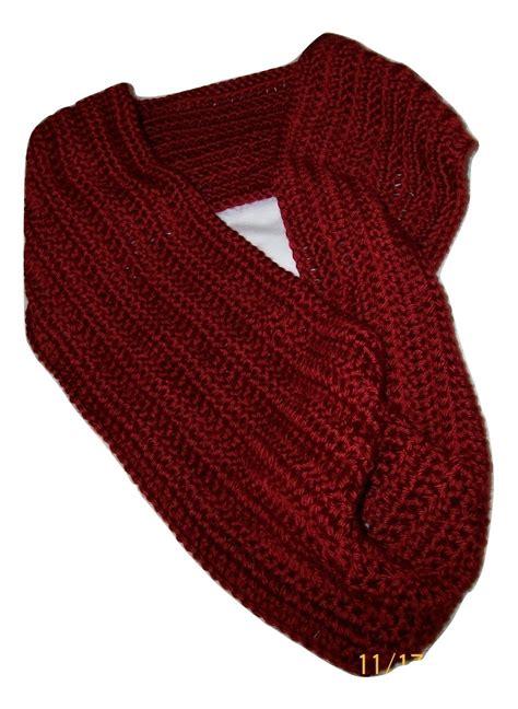 Handmade Infinity Scarf - handmade crochet cowl scarf fashion scarf accessories