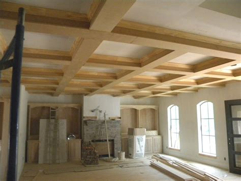 Coffered Ceiling Beams David Carpentry Image Portfolio Coffered Ceilings Faux Beams