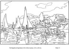 monet coloring pages monet coloring sheets coloring pages