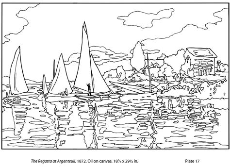 coloring pages monet s water lilies claude monet coloring sheets sketch coloring page