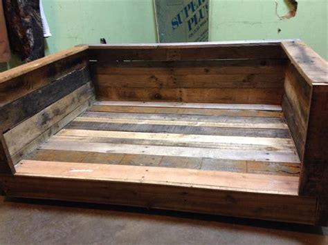 dog bed made from pallets dog bed beds pinterest dog beds pallet furniture