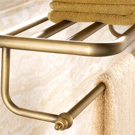 brass bathroom shelves antique brass brushed bathroom wall shelves